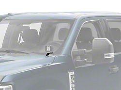 ZRoadz Two 3-Inch LED Cube Light Hood Hinge Mounting Brackets (17-22 F-250/F-350 Super Duty)