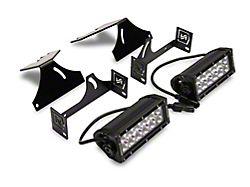 ZRoadz 6-Inch LED Light Bars with Rear Bumper Mounting Brackets (17-22 F-250/F-350 Super Duty)