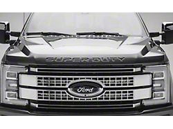 ZRoadz Two 10-Inch LED Light Bars with Behind Upper Grille Top Mounting Brackets (17-19 F-250/F-350 Super Duty Platinum)