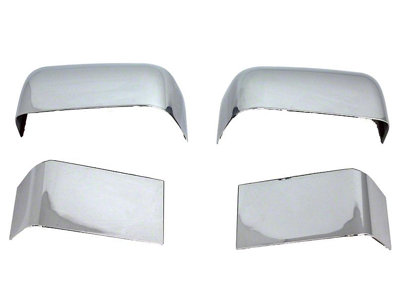 ABS Chrome Mirror Covers (11-16 F-250 Super Duty)