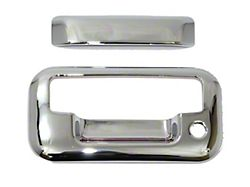 Tailgate Handle Cover; Chrome (11-16 F-250 Super Duty)