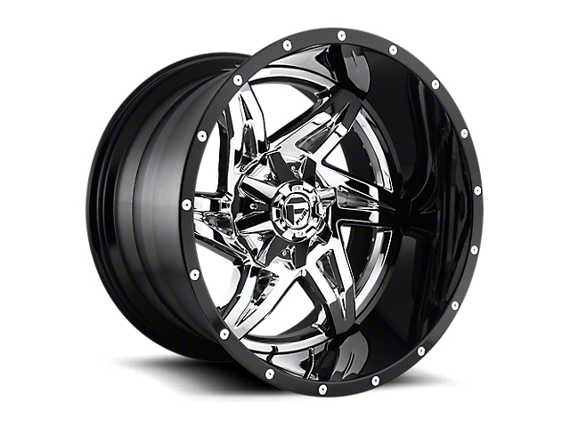 Fuel Wheels Rocker Chrome 8-Lug Wheel - 20x10; -18mm Offset (17-19 F-250 Super Duty)