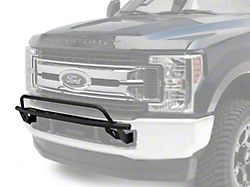 N-Fab Front Light Mount Bar with Multi-Mount; Textured Black (17-22 F-250/F-350 Super Duty)