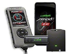 Superchips Flashcal and Amp'D 2.0 Throttle Booster Kit (09-20 F-150, Excluding Diesel)