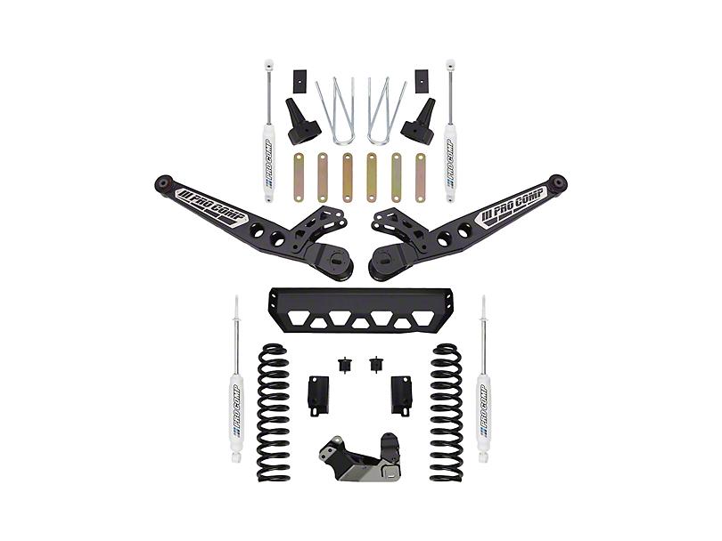 Pro Comp 4 in. Stage 2 Suspension Lift Kit w/ ES9000 Shocks (17-19 4WD 6.7L F-250 Super Duty)