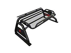 Roll Bar; Atlas; 4-Inch Diameter Tubing; Black; Can Accommodate Up to 50-Inch LED Light Bar (11-22 F-250 Super Duty)