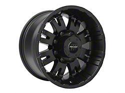 Pro Comp Wheels 01 Series Satin Black 8-Lug Wheel; 17x9; -6mm Offset (17-22 F-250/F-350 Super Duty)