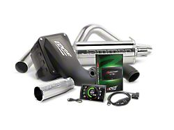 Edge Jammer Dry Cold Air Intake, Evolution CTS3 Tuner and Single Exhaust System Combo Kit; Stage 2 (11-14 6.7L Powerstoke F-250/F-350 Super Duty SRW SuperCrew)
