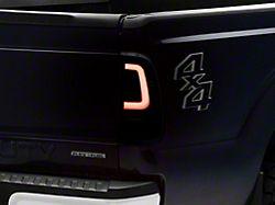 LED Tail Lights; Black Housing; Clear Lens (11-16 F-250/F-350 Super Duty)