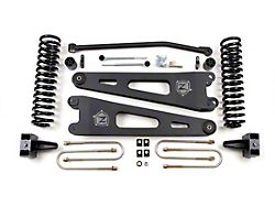 Zone Offroad 4-Inch Radius Arm Suspension Lift Kit with Nitro Shocks (20-22 4WD 6.2L, 7.3L F-250/F-350 Super Duty)