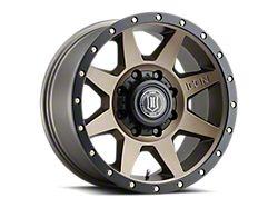 ICON Alloys Rebound Bronze 8-Lug Wheel; 20x9; 6mm Offset (11-16 F-250/F-350 Super Duty)