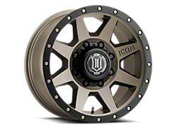 ICON Alloys Rebound HD Bronze 8-Lug Wheel; 17x8.5; 6mm Offset (17-22 F-250/F-350 Super Duty)
