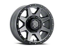 ICON Alloys Rebound HD Titanium 8-Lug Wheel; 18x9; 6mm Offset (17-22 F-250/F-350 Super Duty)