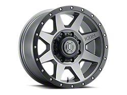 ICON Alloys Rebound Titanium 8-Lug Wheel; 20x9; 6mm Offset (17-22 F-250/F-350 Super Duty)