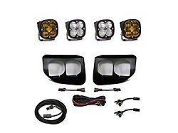 Baja Designs Dual SAE Amber/Pro White Fog Light Pocket Kit (20-22 F-250/F-350 Super Duty)