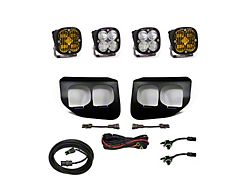 Baja Designs Dual SAE Amber/Sport White Fog Light Pocket Kit (20-22 F-250/F-350 Super Duty)