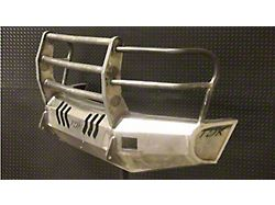 Throttle Down Kustoms Standard Front Bumper with Grille Guard; Bare Metal (20-22 F-250/F-350 Super Duty)