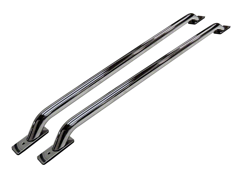 Go Rhino Stock Pocket Bed Rails - Stainless Steel (11-16 F-250 Super Duty w/ 6-3/4 ft. Bed)