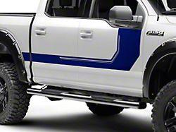 SEC10 Side Graphics; Blue (17-22 F-250/F-350 Super Duty)