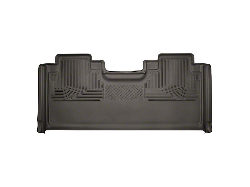 Husky WeatherBeater 2nd Seat Floor Liner - Full Coverage - Cocoa (17-19 F-250 Super Duty SuperCab)