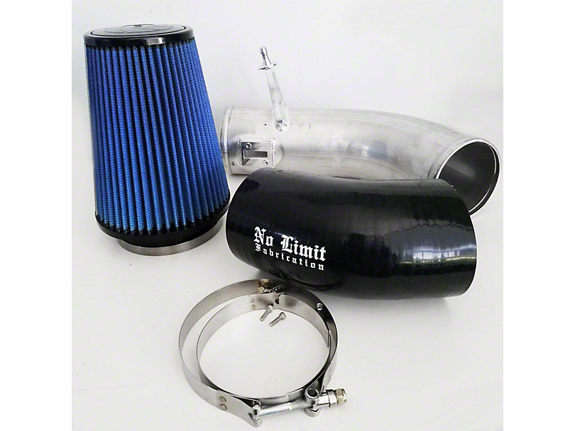 No Limit Fabrication Stage 2 Cold Air Intake w/ Pro 5R Oiled Filter - Raw (11-16 6.7L Powerstroke F-250 Super Duty)