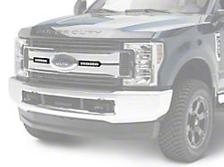 Rough Country 8-Inch Chrome Series LED Light Bar Grille Kit (17-19 F-250/F-350 Super Duty Lariat)