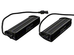 Rough Country 8-Inch Black Series LED Light Bar Grille Kit (17-19 F-250/F-350 Super Duty Lariat)