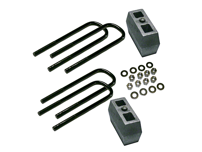 SuperLift 3 in. Rear Block Lift Kit (11-16 F-250 w/o Factory Overload Springs)