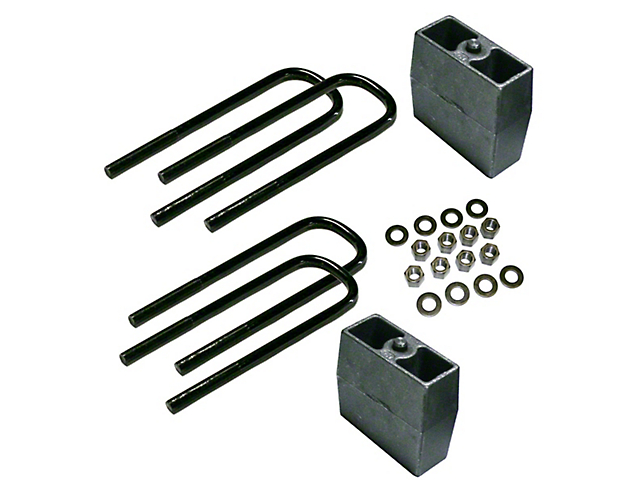 SuperLift 5 in. Rear Block Lift Kit (11-16 F-250 w/o Factory Overload Springs)
