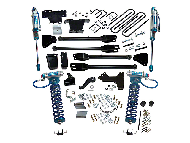 SuperLift 6-Inch King Edition 4-Link Suspension Lift Kit (11-16 4WD 6.7L Powerstroke F-250 Super Duty)