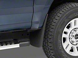 Molded Front and Rear Mud Flaps (17-22 F-250/F-350 Super Duty w/o OE Fender Flares)