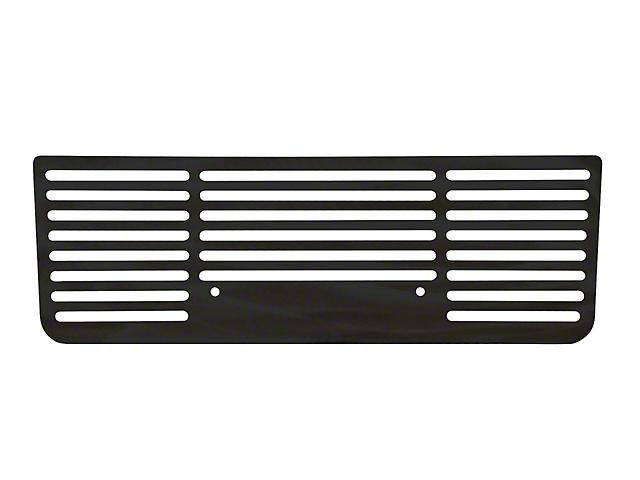 Bar Style Lower Bumper Grille Insert; Black (17-19 F-250 Super Duty)