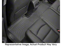 Weathertech DigitalFit Rear Floor Liner; Black (20-21 Jeep Gladiator JT)