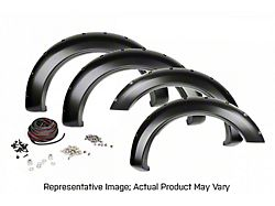 Rough Country Pocket Fender Flares; Race Red (11-16 F-250/F-350 Super Duty)