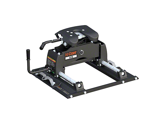 A16 5th Wheel Trailer Hitch with Puck System Roller (11-21 F-250/F-350 Super Duty w/ 6-3/4-Foot Bed)