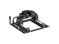 E16 5th Wheel Trailer Hitch with Puck System Roller (11-22 F-250/F-350 Super Duty w/ 6-3/4-Foot Bed)