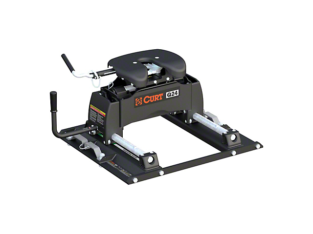 Q20 5th Wheel Trailer Hitch with Puck System Roller (11-21 F-250/F-350 Super Duty w/ 6-3/4-Foot Bed)