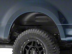 Husky Rear Wheel Well Guards; Black (17-22 F-250/F-350 Super Duty)