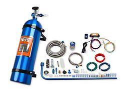 NOS Diesel Nitrous System with Mini 2 Stage Controller; 15 lb. Blue Bottle (11-22 6.7L Powerstroke F-250/F-350 Super Duty)