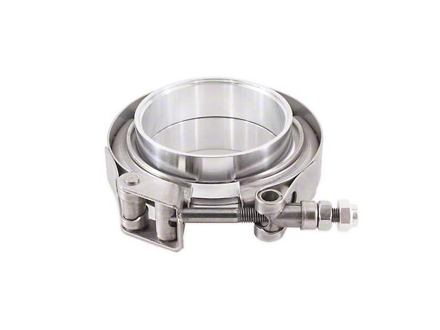 Mishimoto V-Band Clamp; Aluminum; 3 Inch (Universal Fitment)