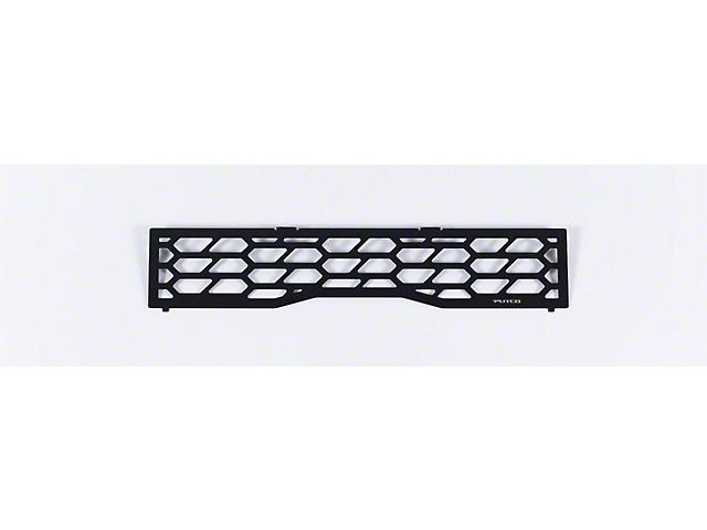 Hex Shield Lower Bumper Grille Insert; Black (20-21 F-250/F-350 Super Duty)