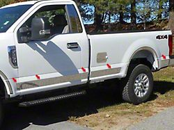 Door Handle Cover Kit; 8 Piece; with Smart Key Access; Chrome (05-15 Tacoma Access Cab)
