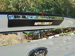 Tailgate Handle Accent Trim; 1 Piece Upper; No Camera; Stainless Steel (17-20 F-250/F-350 Super Duty Regular Cab)