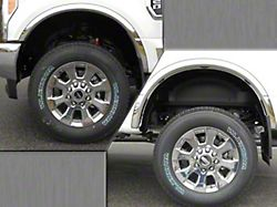 Wheel Well Fender Trim Molding; Stainless Steel; 2.10-Inch Wide (17-22 F-250/F-350 Super Duty SRW)