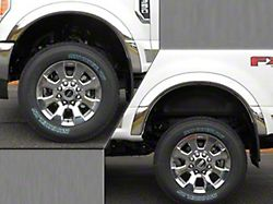 Wheel Well Fender Trim Molding; Stainless Steel; 3.30-Inch Wide (17-22 F-250/F-350 Super Duty SRW)