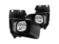 Factory Style Fog Lights; Clear (11-15 F-250 Super Duty)