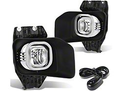 Fog Light; With Switch; H10 Bulb; Clear (11-16 F-250 Super Duty)
