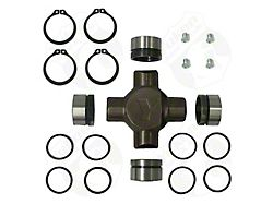 Yukon Gear Universal Joint; Front; Dana 60; Reverse Rotation; Chrome Moly Super Joint; With Full Circle Clips (11-13 4WD F-250 Super Duty)