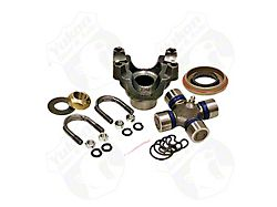 Yukon Gear Differential End Yoke; Rear Differential; Dana 60; Trail Repair Kit; Includes Yoke, Greasable 1310 U-Joint, U-Bolt Kit with Nuts and Lock Washers, Pinion Seal, Pinion Nut and Pinion Washer (11-13 4WD F-250 Super Duty)