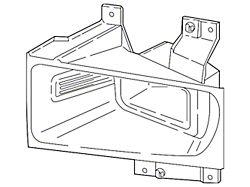 Ford LED Fog Light; Passenger Side (17-22 F-250/F-350 Super Duty)